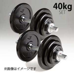 ダンベル セット ハンマートーン 40kg / BODYMAKER ボディメーカー 筋トレ 筋肉  ダンベル 上腕|bodymaker
