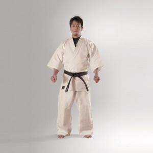 フルコン空手衣アイボリー(上下セット) 7号 KA7 BODYMAKER ボディメーカー フルコンタクト空手衣 LP_karate_do 15th|bodymaker