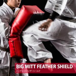 ビッグミットフェザーシールド  BODYMAKER ボディメーカー ジム ラッシュ トレーニング グローブ 空手 サンドバッグ キックボクシング 格闘|bodymaker