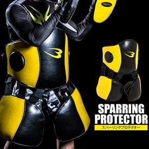 スパーリングプロテクター 3点セット BODYMAKER ボディメーカー 格闘技 空手 ボクシング キックボクシング 総合格闘技 練習 道場 スパーリ|bodymaker