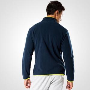 フリースジップアップジャケット BODYMAKER ボディメーカー ブルゾン スノーボード アウトドア スキー ウェア ロゴ|bodymaker|02