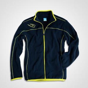 フリースジップアップジャケット BODYMAKER ボディメーカー ブルゾン スノーボード アウトドア スキー ウェア ロゴ|bodymaker|03