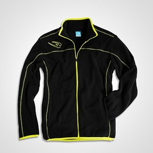 フリースジップアップジャケット BODYMAKER ボディメーカー ブルゾン スノーボード アウトドア スキー ウェア ロゴ|bodymaker|04