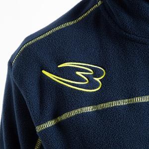 フリースジップアップジャケット BODYMAKER ボディメーカー ブルゾン スノーボード アウトドア スキー ウェア ロゴ|bodymaker|06
