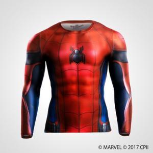BM・GEAR <スパイダーマン HOMECOMING> ロングスリーブ / BODYMAKER ボディメーカー MARVEL スパイダ―マン|bodymaker