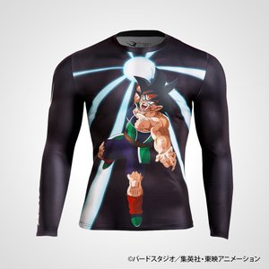 BM・GEAR ドラゴンボールZ バーダック ロングスリーブ/ BODYMAKER ボディメーカー DRAGONBALL コスプレ ハロウィン 仮装 衣装 スポーツ|bodymaker