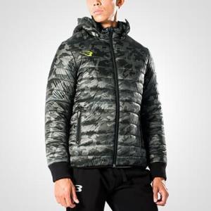 ゴールドカモフェイクダウンパーカー / BODYMAKER ボディメーカー メンズファッション ジップ ジャケット ブルゾン アメカジ|bodymaker