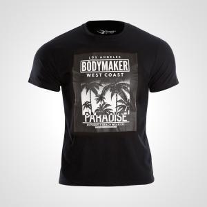 カジュアルプリントTシャツ PARADISE2 Tシャツ メンズ Mens Tshirt 半袖 半そで 無地 半袖Tシャツ プリントTシャツ Tシャツ bodymaker
