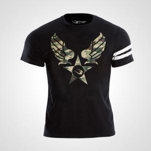 カジュアルプリントTシャツ ARMY3 BODYMAKER Tシャツ メンズ Mens Tshirt 半袖 半そで 無地 半袖Tシャツ プリントTシャ bodymaker