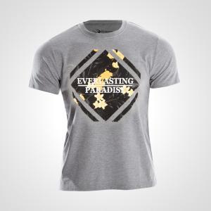 カジュアルプリントTシャツ PARADISE3 BODYMAKER Tシャツ メンズ Mens Tshirt 半袖 半そで 無地 半袖Tシャツ プリン bodymaker