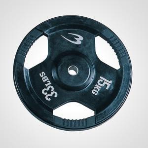 ラバープレート 15.0KG BODYMAKER ボディメーカー 筋トレ 筋肉 ダンベル ベンチプレス 大胸筋 エクササイズ bodymaker