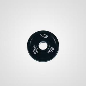 オリンピックラバープレート 2.5KG BODYMAKER ボディメーカー ダンベル バーベル プレート 重り 筋トレ 筋力 筋肉 鉄アレイ トレーニ|bodymaker