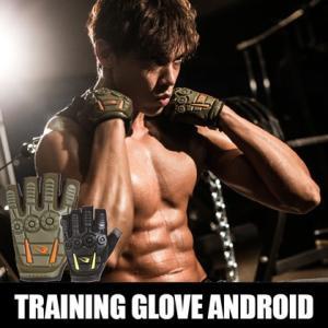 トレーニンググローブ ANDROID BODYMAKER ボディメーカー ダイエット ジム 手袋 トレーニング アンドロイド|bodymaker