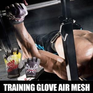 トレーニンググローブ エアーメッシュ BODYMAKER ボディメーカー ダイエット ジム 腹筋 フィットネス ダンベル グローブ 手袋 スポーツ|bodymaker