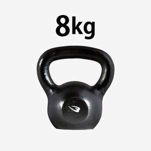 ケトルベル 8.0kg BODYMAKER ボディメーカー ダンベル プレート 重り 筋トレ 筋力 筋肉 鉄アレイ トレーニングジム|bodymaker