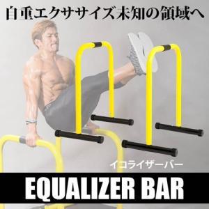 イコライザーバー BODYMAKER ボディメーカー イコライザー 広背筋 上腕三頭筋 大胸筋下部 クロスフィットストレッチ トレーニング 筋トレ 筋|bodymaker