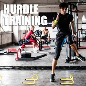 ハードルトレーニング 4本セット BODYMAKER ボディメーカー トレーニング フィールド 持久力 瞬発力 bodymaker