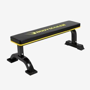 フラットベンチEX BODYMAKER ボディメーカー 筋トレ 腹筋 筋肉 ダンベル 自宅 ベンチプレス 上腕二頭筋 スポーツジム 肉体改造 二の腕|bodymaker