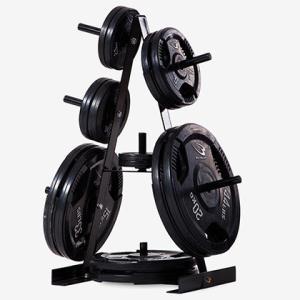 プレートラック3 BODYMAKER ボディメーカー ウェイトトレーニング プレート バーベル プレートストックストック ホームジム トレーニング器具|bodymaker