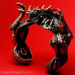 バングル ドラゴン 龍 シルバーアクセサリー ボディピアス BodyWell|bodywell