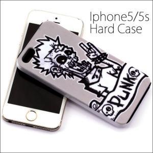 iphone5・5S 5.5 ケース アイフォン5 パンク PUNK ROCK スマホケース|bodywell