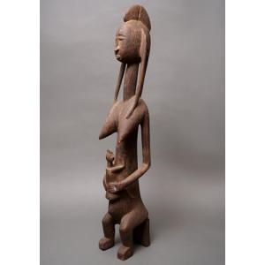 アフリカ マリ共和国 バンバラ 母子立像 プリミティブアート|bogolanmarket