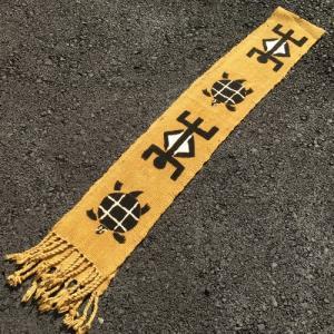アフリカ マリ共和国 ボゴラン 1列帯 No.2  泥染め コットン 織布 飾り布 タペストリー bogolanmarket