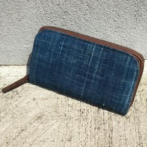 アフリカ ボゴランフィニ 長財布 ウォレット 藍染め |bogolanmarket