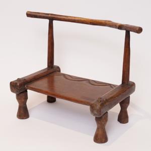 アフリカ コートジボワール ダン スツール 椅子 腰掛|bogolanmarket