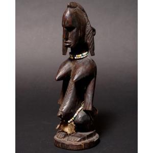 アフリカ マリ共和国 バンバラ 立像 (S) プリミティブアート 彫刻 木彫り|bogolanmarket
