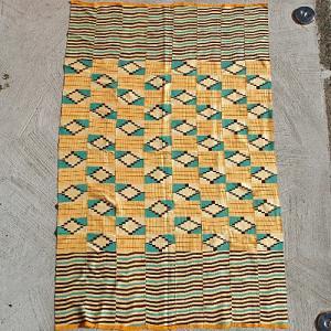 アフリカ ガーナ ケンテ No.5 手織り布  bogolanmarket
