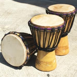 アフリカ 民俗楽器 マリ キッズジェンベ (S) パーカッション 太鼓 ジャンべ|bogolanmarket