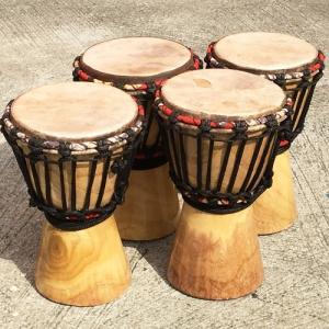 アフリカ 民俗楽器 マリ キッズジェンベ (SS) パーカッション 太鼓 ジャンべ|bogolanmarket