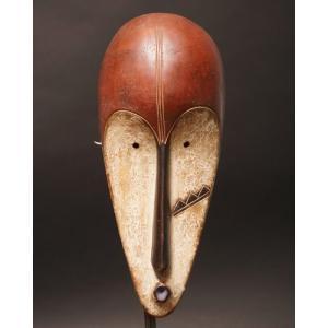 アフリカ ガボン ファン(ファング) マスク(仮面) No.50 プリミティブアート 木彫り アフリカンアート 彫刻 bogolanmarket
