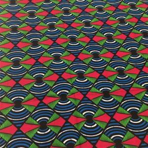 アフリカンワックスプリント 生地 パーニュ 布 No,301 (1ヤード(90cm)単位の切り売り布です。)|bogolanmarket