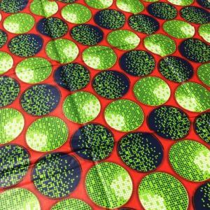 アフリカンワックスプリント 生地 パーニュ 布 No,313 (1ヤード(90cm)単位の切り売り布です。)|bogolanmarket