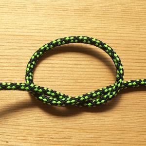 ジェンベ ジャンベ用ロープ ブラックxネオングリーン  5mm経 アフリカンドラム ドラムロープ 5ミリ bogolanmarket