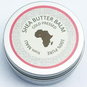 アフリカ マリ産 100%ピュア シアバターバームコスメ  35g|bogolanmarket