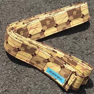 アフリカ 民族楽器 ジェンベストラップ No.107 ジャンべ アフリカンワックス パーニュ 吊り紐 bogolanmarket