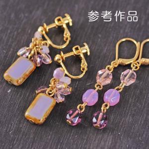 ビーズ チェコビーズ スペシャルビーズアソート〜Blooming Lavender|bohemiabox