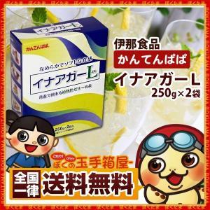 ゼリー  植物性ゼリーの素  イナアガーL 500g かんてんぱぱ 送料無料