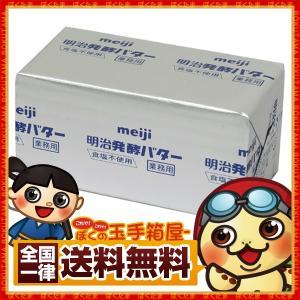 明治 発酵バター 450g バター 業務用 製菓 製パン 送料無料|bokunotamatebakoya
