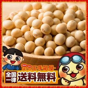 大豆 国産 北海道産 国産大豆 500g 豆 イソフラボン 送料無料|bokunotamatebakoya