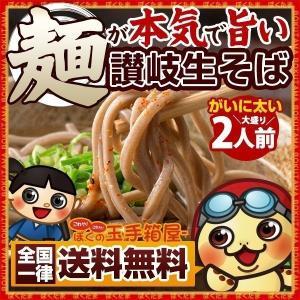 そば 蕎麦  麺が本気で旨い 讃岐 生そば お試し300g ...
