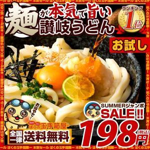 讃岐うどん 麺が本気で旨い ご当地うどん お試しセット 2人前 お取り寄せ 送料無料 (特産品 名物商品) グルメ SALE セール