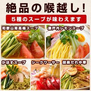ギフト 冷やし中華 麺が本気で旨い冷やし中華1 0人前 ギフトセット(麺100gx10、スープ5種類x2) お取り寄せ 送料無料 ご当地 (セット パック)|bokunotamatebakoya|03