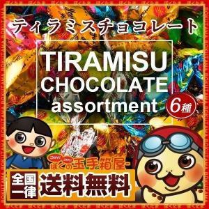 訳あり 6種のティラミスチョコレート 250g 送料無料 チョコ チョコレート ティラミス アソート...