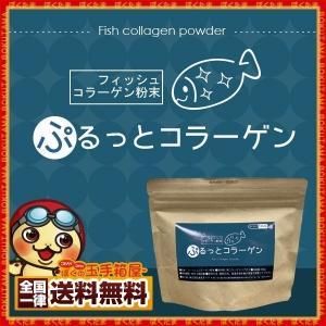 コラーゲン 粉末 ぷるっとコラーゲン 100g×5  [ 無添加 フィッシュコラーゲン 高純度 低分子 ペプチド サプリ 顆粒 魚コラーゲン ] bokunotamatebakoya