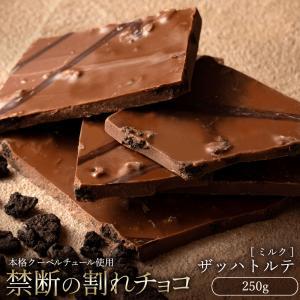 割れチョコ 訳あり ミルク ザッハトルテ 300g クーベルチュール使用 送料無料 チョコレート ポ...