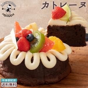 送料無料 カトレーヌ チョコレートケーキ ケーキ スイーツ 洋菓子 果物 トッピング ホール ギフト お祝い バースデーケーキ 結婚祝い 内祝い 誕生日 bokunotamatebakoya